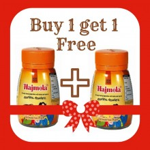 Promotional Pack Hajmola Reg 120tbs (Pastilute Indiene Digestive 1+1)