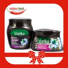 Promotional Pack VATIKA Black Seed Hair Mask 500g+ VATIKA Hair Cream Black Seed 140ml