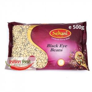 Schani Black Eye Beans (Fasole alba cu ochi negru) 500g