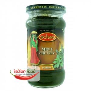 Schani Mint Chutney (Pasta de Menta Chutney) 240ml