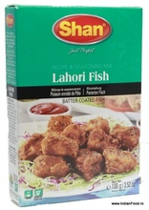 SHAN Lahori Fish Mix (Condiment pentru Peste) 100g