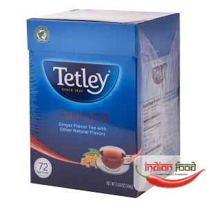 Tetley Ginger Round 72 Tea Bags (Ceai de Ghimbir cu Alte Arome Naturale) 72 pliculete