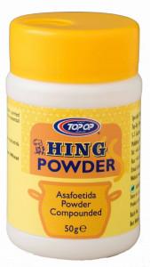 TOPOP Hing Powder (Asafoetida) 50g