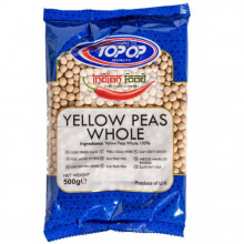 TopOp Yellow Peas Whole (Mazare Galben Intreaga) 500g