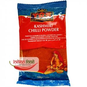 TRS Chilli Powder Kashmiri (Boia Rosie, zona Kashmir) 100g