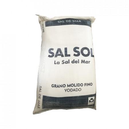 SAL SOL GRANO FINO BT/50 KG