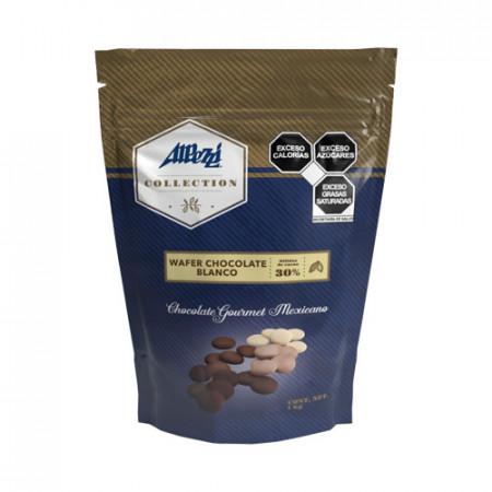 WAFER CHOCOLATE BLANCO PZA. DE 1 Kg