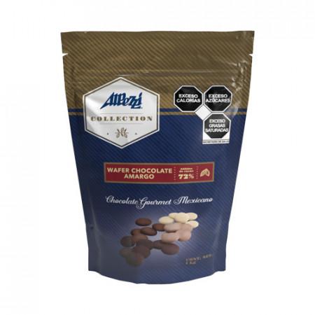 WAFER CHOCOLATE AMARGO PZA. DE 1 Kg