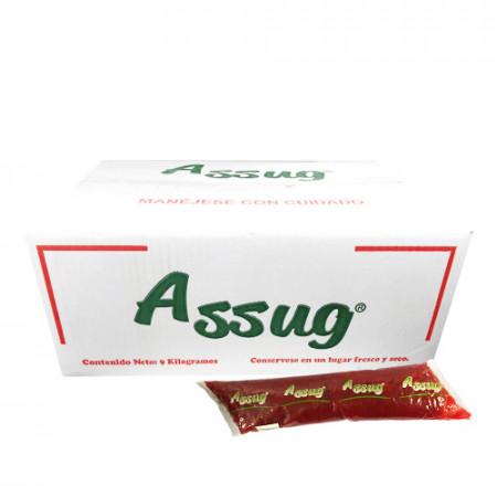GLASE DE FRESA ASSUG CJ/9 KG