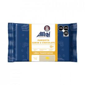 MARQUETA CHOCOLATE LACTEA ALPEZZI PAQUETE DE 5 Kg