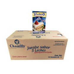 LECHE DE 3 LECHES CHANTILLY CAJA DE 12 Kg