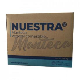 MANTECA NUESTRA PANADERA MULTIPROPÓSITO CAJA DE 24 kg