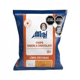 CHIPS CHOCOLATE ALPEZZI BOLSA DE 500g (CHOCOLATE AMARILLO).