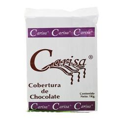 COBERTURA CARISA CHOCOLATE PZA. DE 1 Kg