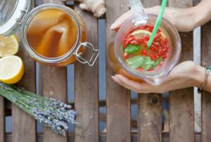Kombucha pro-biotic tea