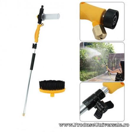 Pistol de Apa pentru Spalat cu Jet Water Zoom, perie inclusa