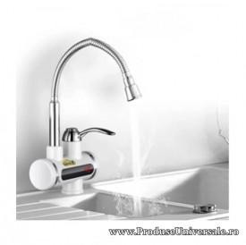 Robinet electric pentru bucatarie cu afisaj LCD, Instant pentru apa calda