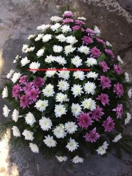 Poze Coroane Funerare Crizantema Floare