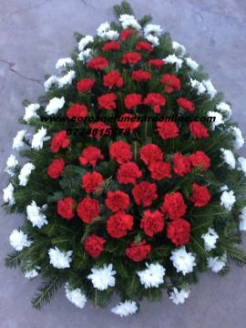 Poze Coroana Funerara Ieftina Din Crizantema