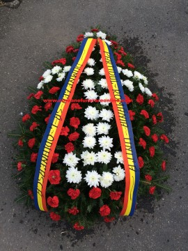 Coroana Funerara Ieftina Garoafe