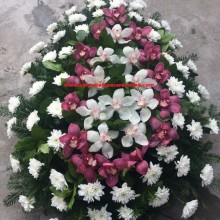 Coroana Funerara Ieftina Orhidee Inperiala