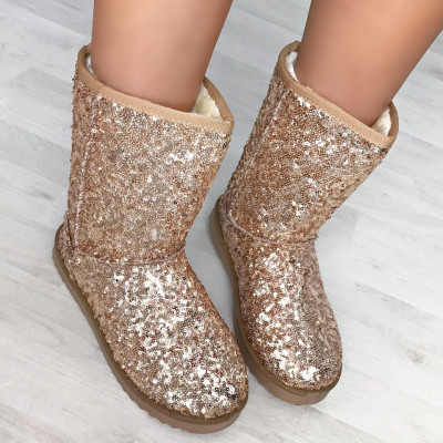 "Cizme UGG Imblanite ""JollyStoreCollection"" cod: 5622 XX"