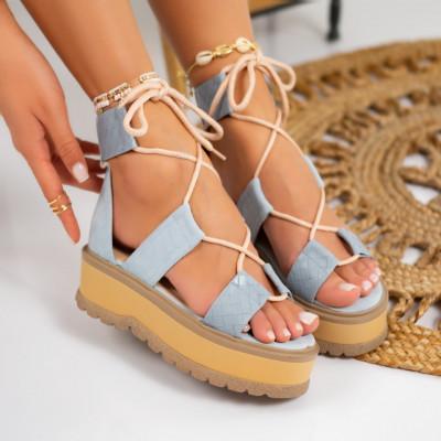 Sandale cu platforma cod: S6535