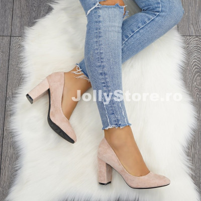 "Pantofi cu Toc ""JollyStoreCollection"" cod: P118 Z"