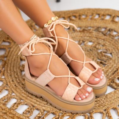 Sandale cu platforma cod: S6532