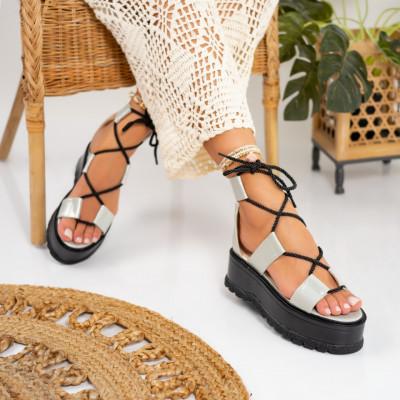 Sandale cu platforma cod: S6539