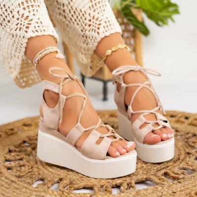 Sandale cu platforma cod: S6543
