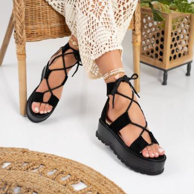 Sandale cu platforma cod: S6601
