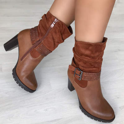 "Botine ""JollyStoreCollection"" cod: 5454 G"