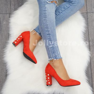 "Pantofi cu Toc ""JollyStoreCollection"" cod: P79 Z"
