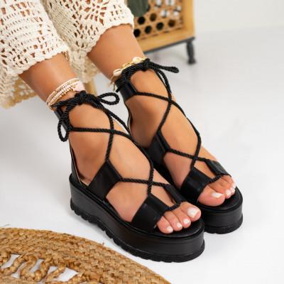 Sandale cu platforma cod: S6537