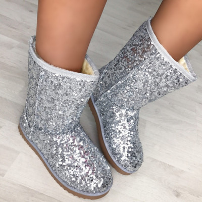 "Cizme UGG Imblanite ""JollyStoreCollection"" cod: 5619 XX"