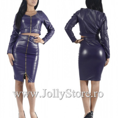 "Compleu Piele Eco ""JollyStoreCollection"" cod: 2942 K"