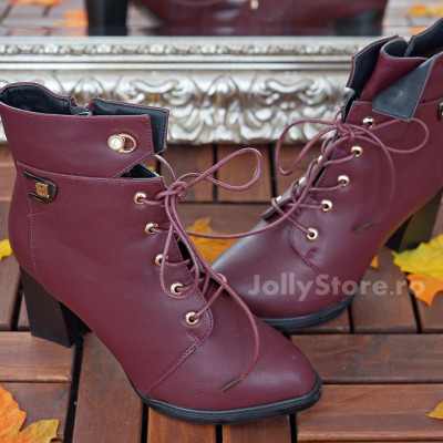"Botine Imblanite   ""JollyStoreCollection"" cod: 7889"