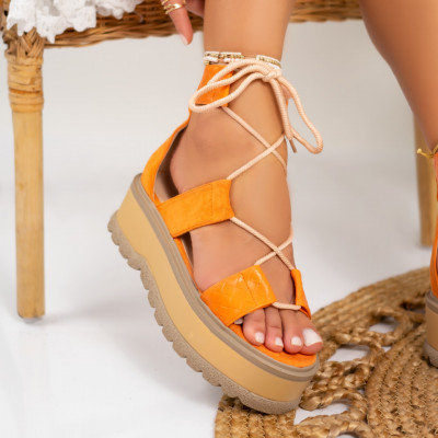 Sandale cu platforma cod: S6533
