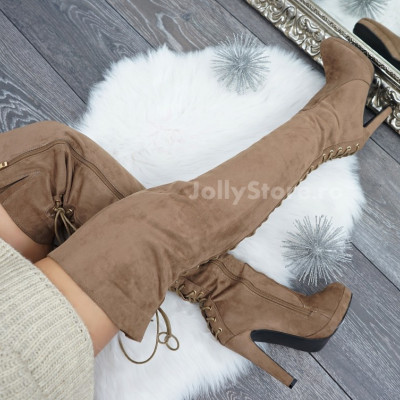 "Cizme Imblanite ""JollyStoreCollection"" cod: 7920"