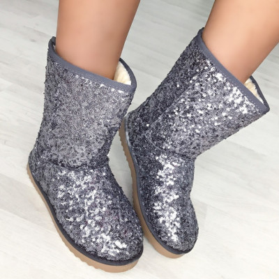 "Cizme UGG Imblanite ""JollyStoreCollection"" cod: 5620 www"