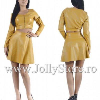 "Compleu Piele Eco ""JollyStoreCollection"" cod: 2944 K"