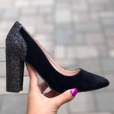 "Pantofi cu Toc ""JollyStoreCollection"" cod: P08 Z"