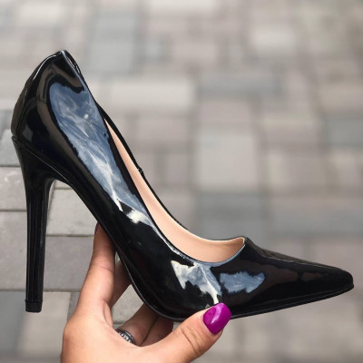 "Pantofi cu Toc ""JollyStoreCollection"" cod: P44 Z"
