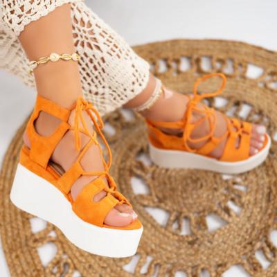 Sandale cu platforma cod: S6546