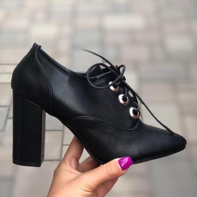 "Pantofi cu Toc ""JollyStoreCollection"" cod: P35 s"
