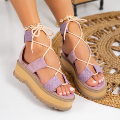 Sandale cu platforma cod: S6534