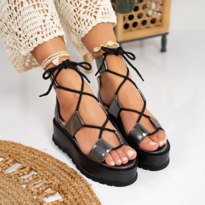 Sandale cu platforma cod: S6538