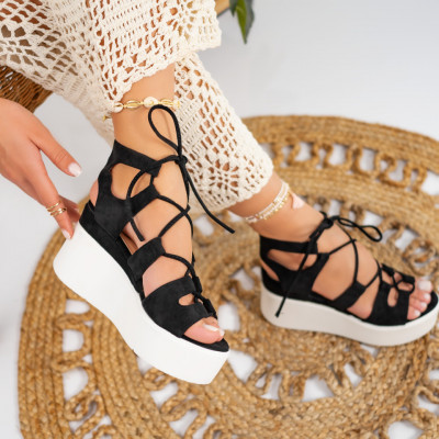 Sandale cu platforma cod: S6542