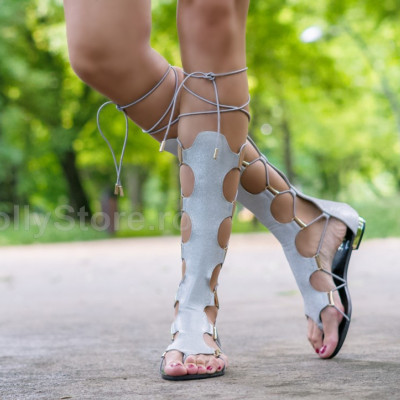 """Sandale Gladiator """"JollyStoreCollection"""" cod: 6992 S"""